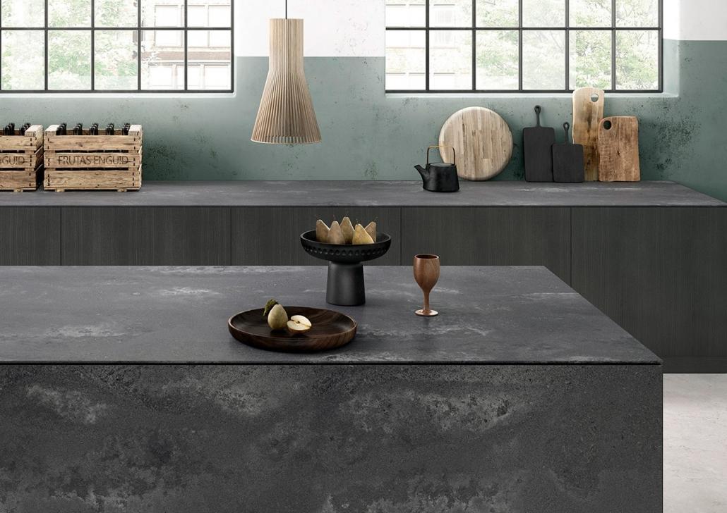 Caesarstone Küchenarbeitsplatte