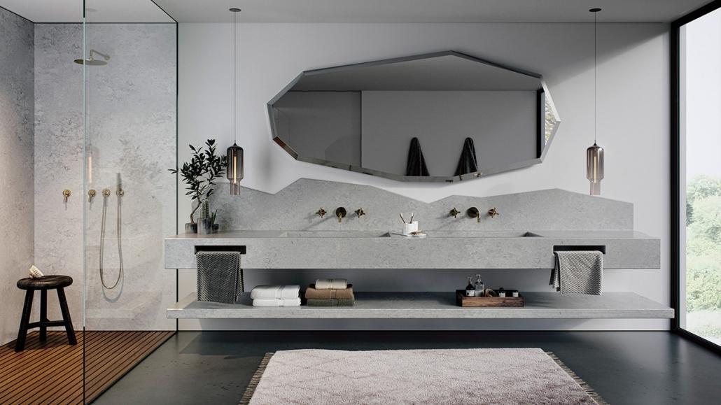 Caesarstone Badezimmer Waschtisch