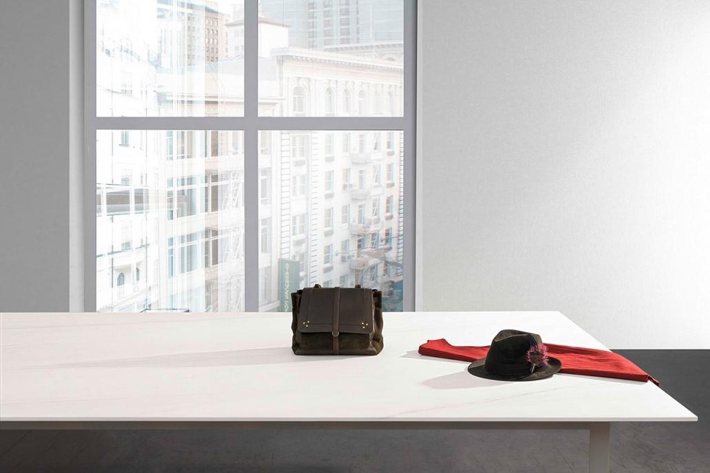 Laminam Tischplatte modern